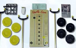 Deluxe Continental Shuffleboard Set
