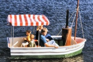 Africa Queen Pedal Boat