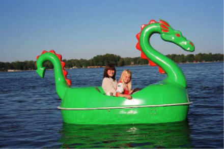 Dragon Pedal Boat