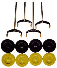 Continental Shuffleboard Set
