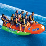 Resort Sports 8 Person Closed Bow Towable